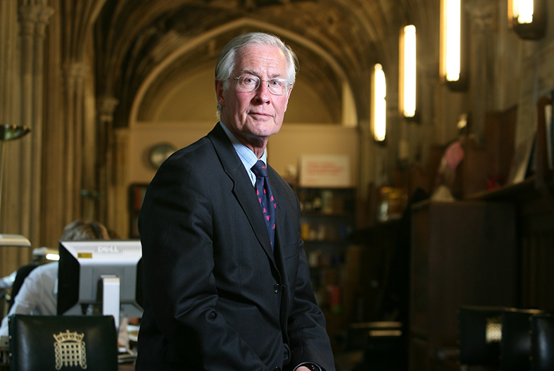 Michael Meacher at the House of Commons