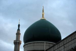Mosque Dome and Minaret 2