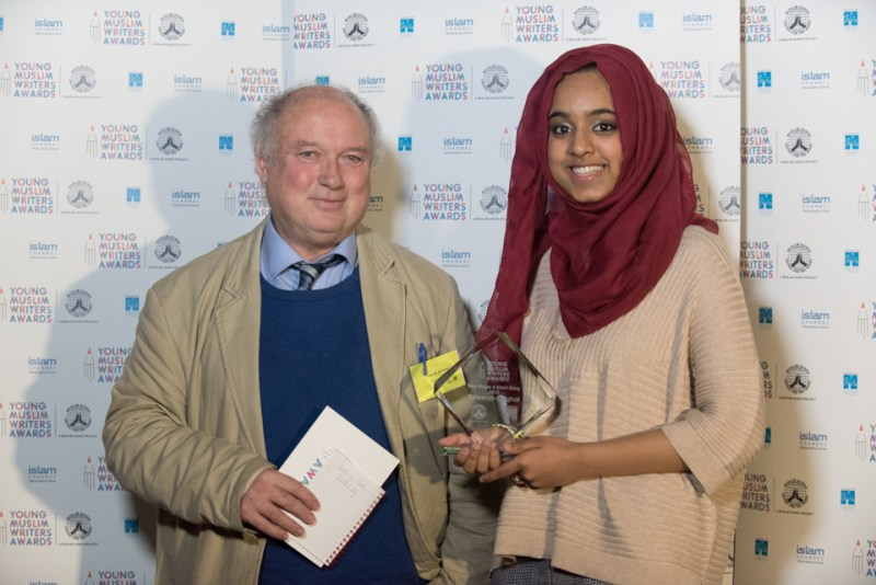 Louis de Bernieres and Safeerah Mughal
