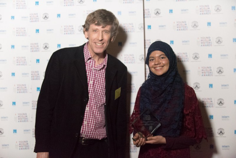 Tim Bowler and Imaan Maryam Irfan