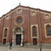 kościół santa maria delle grazie z ostatnią wieczerzą