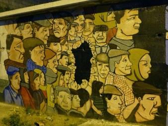 kolorowy mural