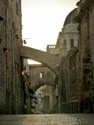 uliczka na starym mieście