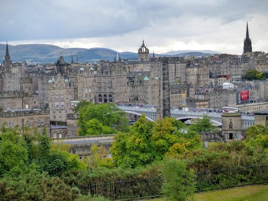 27. Edynburg - widok z góry