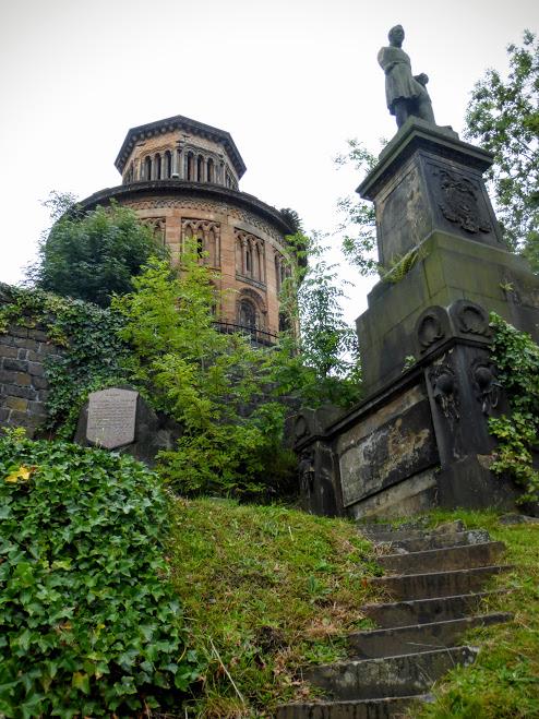 30. Glasgow - cmentarz wiktoriański