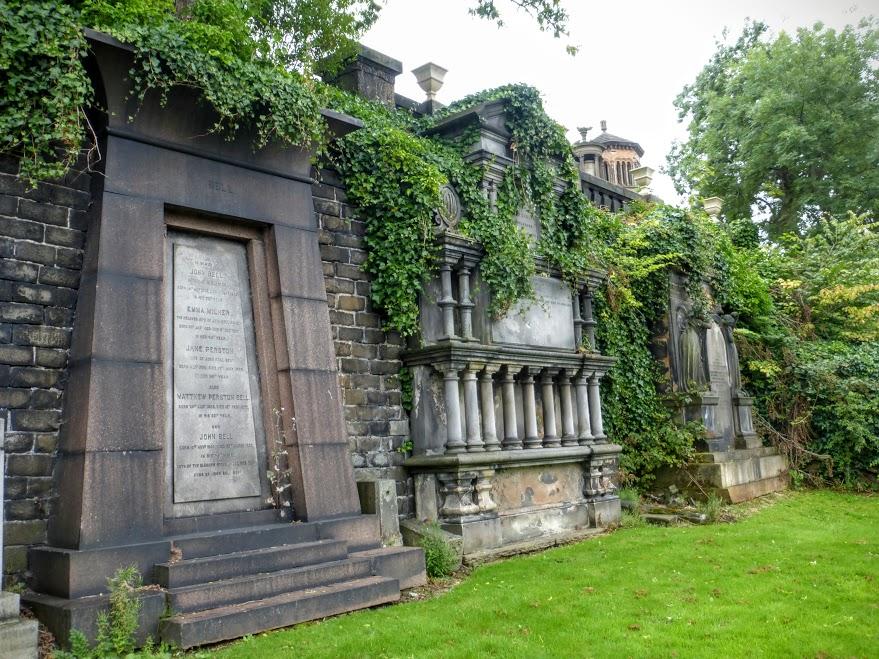 31. Glasgow - cmentarz wiktoriański