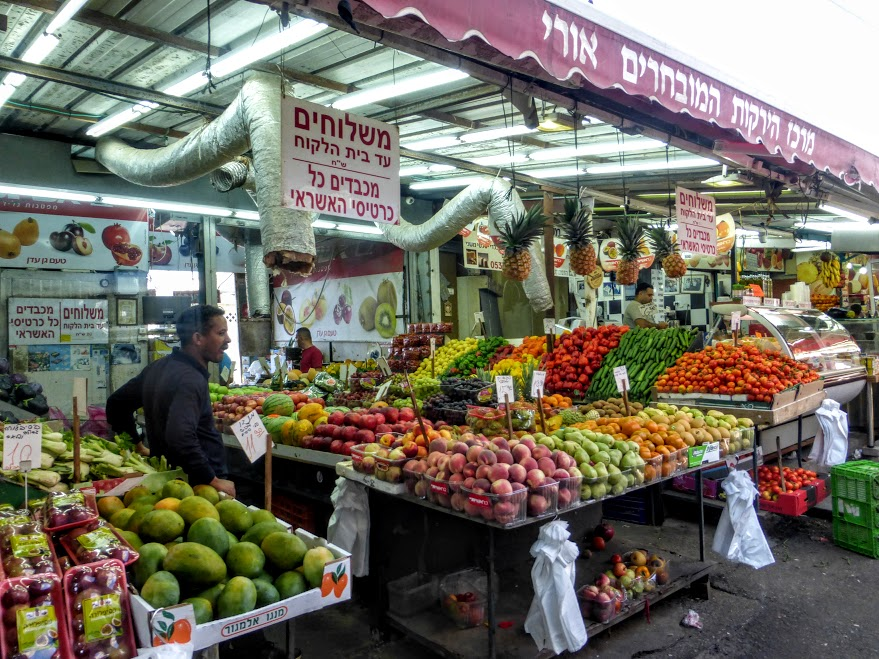45. Tel Aviv - bazar