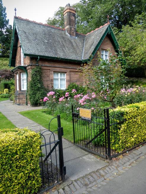 9. Gingerbread house, Princes Street Gardens