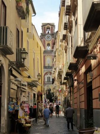 8. Uliczka w Sorrento