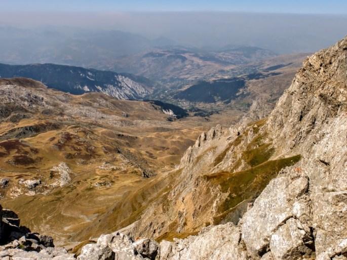 18. Widok na stronę albańską