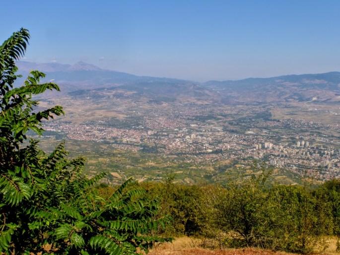 5. Skopje z góry