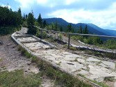 Zejście na przełęcz Krowiarki
