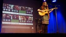 Kam aus Regensburg und sang sich auf den zweiten Platz: Josie Malegria