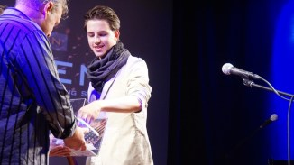 Gast Sebastian Klein zieht die Publikumsgewinnerin