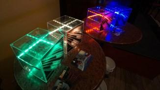 Innovation 2015: die beleuchteten Urnen!