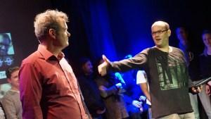 Führten durch die #open 30: Michi Bohlmann und alex sebastian