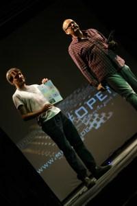 Erklären das Voting: Peter Fischer und alex sebastian