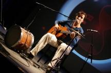 Wieder mal als One-Man-Band unterwegs: Markus Nagy
