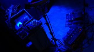 Cockpit einer One-Man-Band