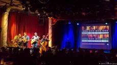 Michael Schrenk und Friends geben ihre Zugabe auf der Nebenbühne. Natürlich akustisch. musoc#51