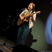 Ronja spielte 2 Songs mit großem Engagement. Das Publikum belohnte mit dem dritten Platz.