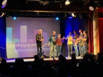 Die glücklichen Finalisten: Mango Mindset und Alina Abgarjan