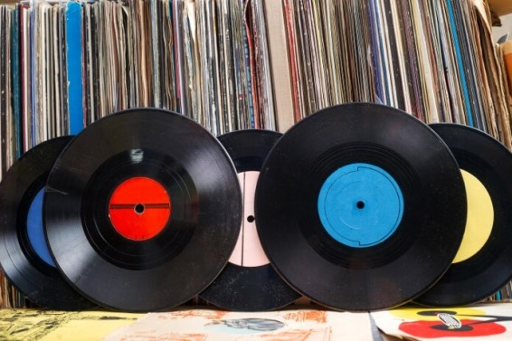 What is vinyl records?