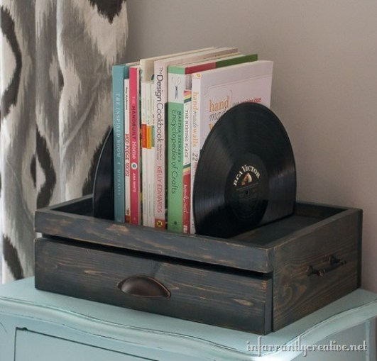 Make beautiful bookends