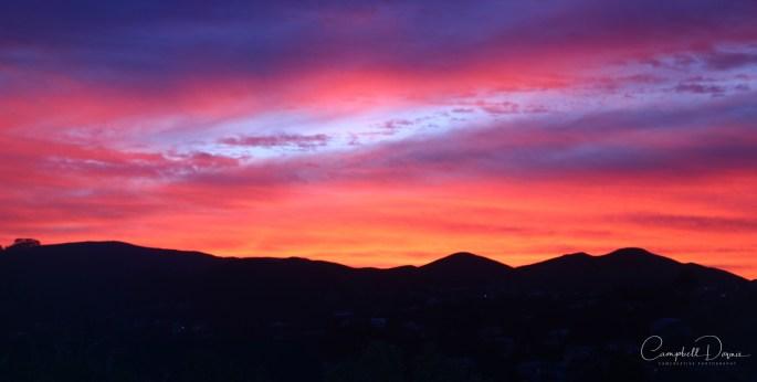 Sunset untouched sig