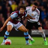 during the Barclays Premier League match between Aston Villa and Manchester United on August 14, 2015 in Birmingham, United Kingdom.