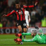 during the Barclays Premier League match between A.F.C. Bournemouth and Manchester United at Vitality Stadium on December 12, 2015 in Bournemouth, United Kingdom.