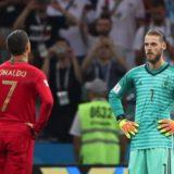 De Gea Ronaldo VM 2018