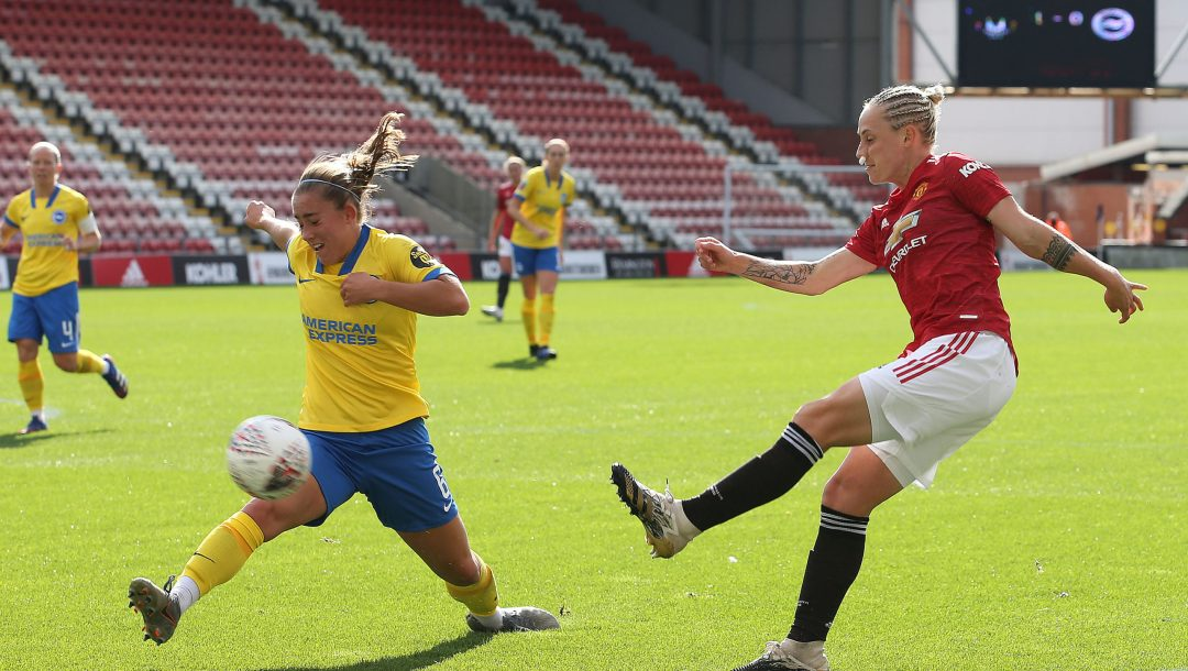 Manchester United v Brighton And Hove Albion - Barclays FA Women's Super League