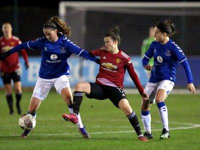 Damlaget: Everton - Manchester United 1-0