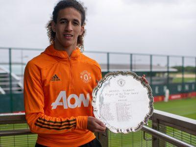 Hannibal prisad som årets U23-spelare i Manchester United