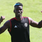 ST ANDREWS, SCOTLAND - AUGUST 04: (EXCLUSIVE COVERAGE) Paul Pogba of Manchester United in action during a first team training session on August 04, 2021 in St Andrews, Scotland. (Photo by Matthew Peters/Manchester United via Getty Images)
