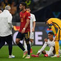 Raphaël Varanes rehabilitering tar några veckor