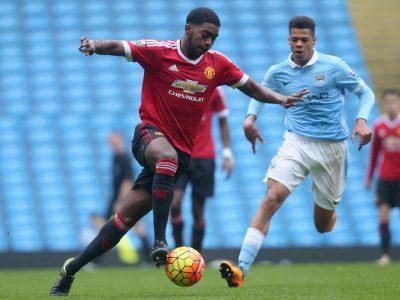 Presentation av Manchester Uniteds ungdomsspelare säsongen 2017/18