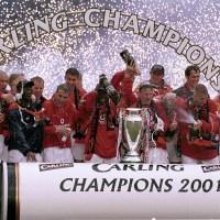 Manchester Uniteds ligatitel 2001: Tredje raka