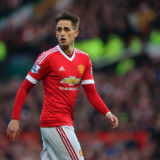 MANCHESTER, ENGLAND - FEBRUARY 28:  Adnan Januzaj of Manchester United during the Barclays Premier League match between Manchester United and Arsenal at Old Trafford on February 28 in Manchester, England.  (Photo by Matthew Ashton - AMA/Getty Images)
