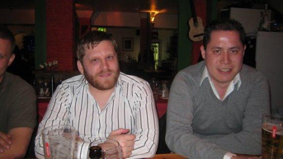 Micke och Raymond.