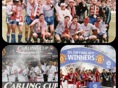 Manchester Uniteds ligacupvinster