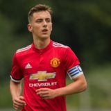Lee O'Connor of Manchester United FC U19 during the Otten Cup match between Borussia Monchengladbach U19 and Manchester United U19 at De Herdgang on August 05, 2017 in Eindhoven, The Netherlands