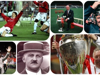 Albut till Solskjaer: Manchester Uniteds managerhistoria