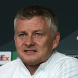 MANCHESTER, ENGLAND - MAY 16: (EXCLUSIVE COVERAGE) Manager Ole Gunnar Solskjaer of Manchester United speaks during a UEFA Europa League press conference at Aon Training Complex on May 16, 2021 in Manchester, England. (Photo by Matthew Peters/Manchester United via Getty Images)