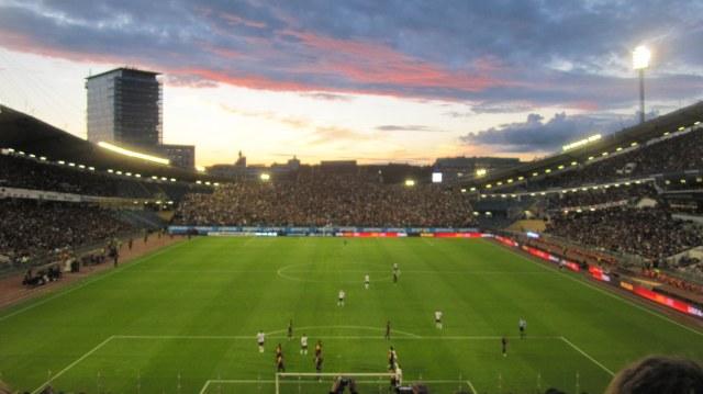 United mötte Barcelona i Göteborg.