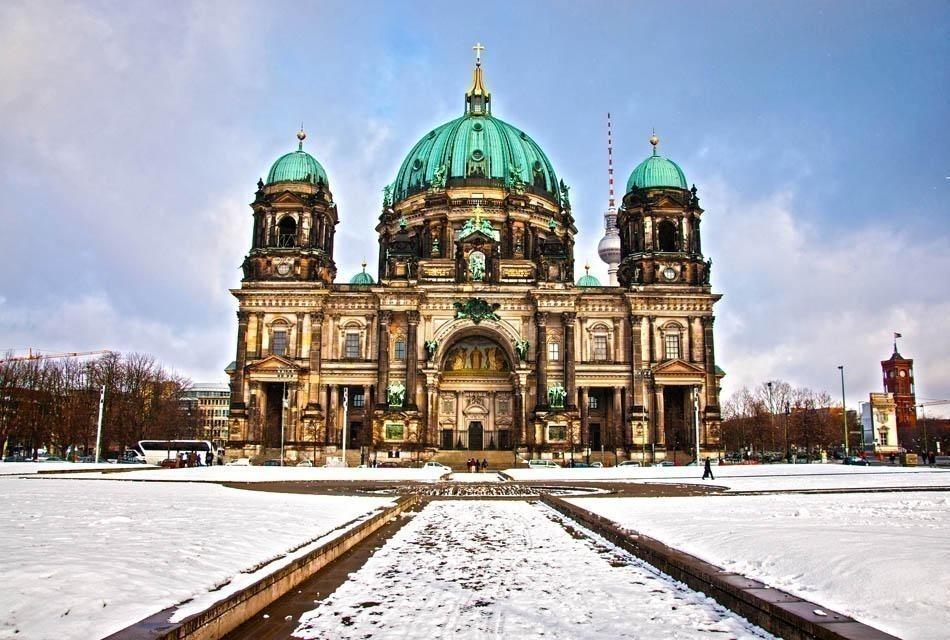 Berlin Dom in winter day   Berlin Travel Guide