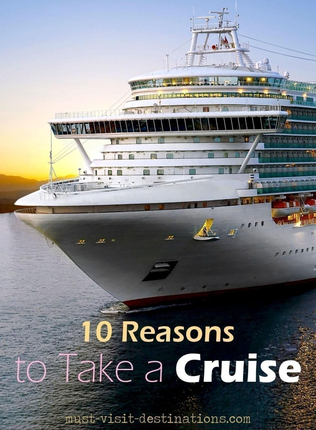 TOP 10 Reasons to Take a Cruise #travel #cruise