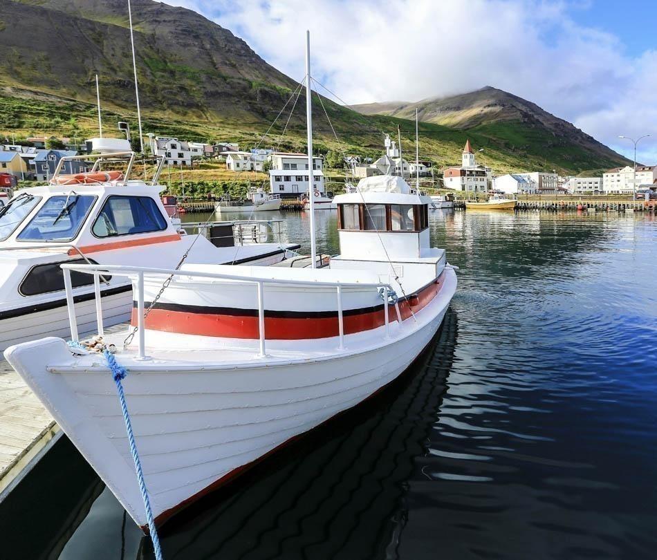 Akureyri harbor, Iceland | Iceland Travel Guide