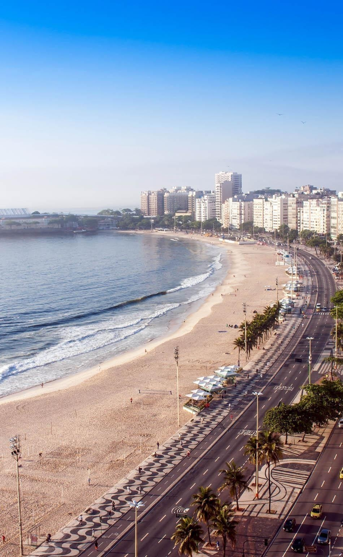 The famous beach of Copacabana, Rio de Janeiro | Brazil Travel Guide
